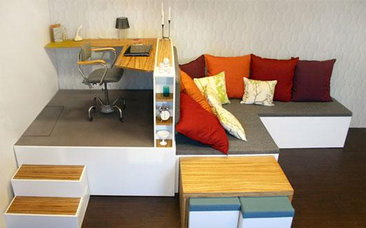 Interior Design 2013: Maximizar los Muebles en Apartamentos con ...
