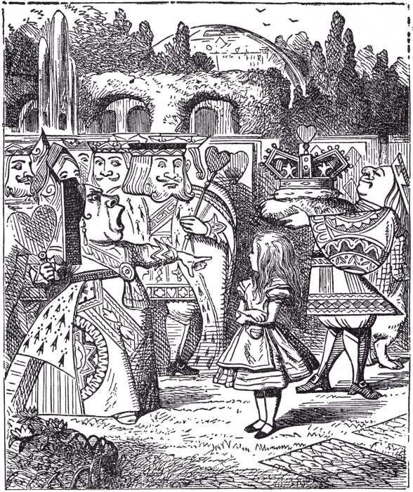 Le mani nella marmellata the golden age of illustration sir john tenniel - Alice dietro lo specchio ...