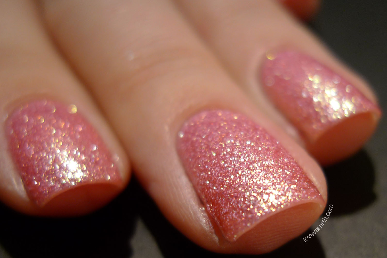 Catrice Call Me Princess Crushed Crystals texture nail polish 2014 release