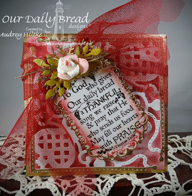 Stamps - Our Daily Bread Designs Thankful Song, ODBD Custom Decorative Corners Die