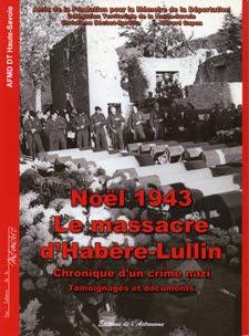 LIVRE : Habère-Lullin Noël 1943, le massacre