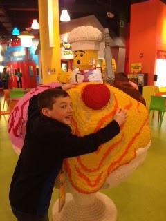 Giant Lego Ice Cream Sundae