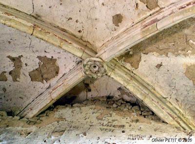 TOUL (54) - La chapelle templière de Libdeau