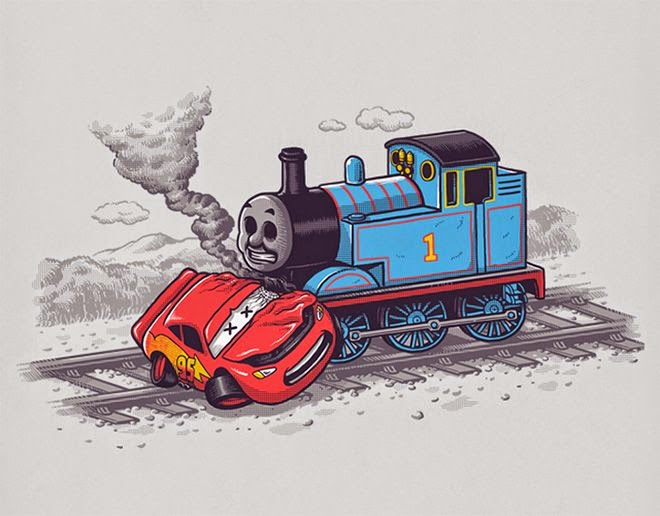 Hilariously Twisted Cartoons by Ben Chen