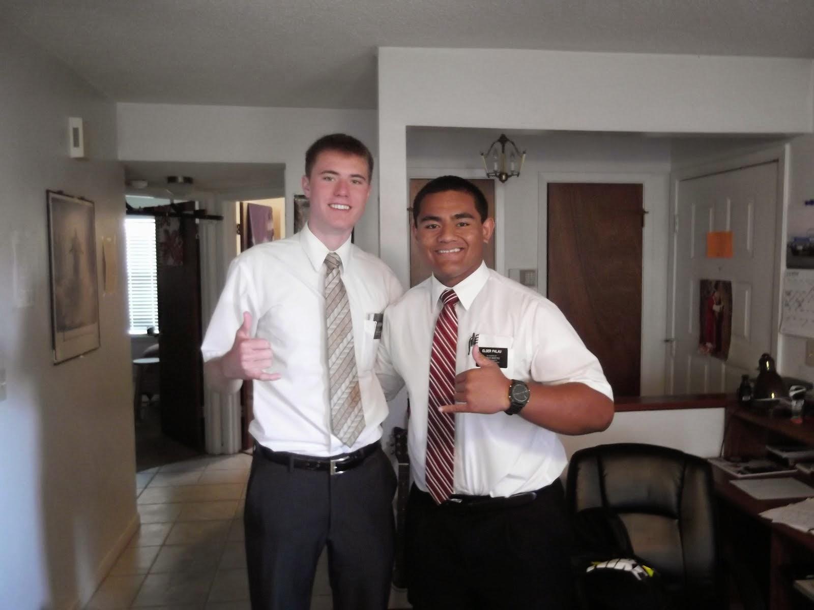 Elder Foster & Elder Palau