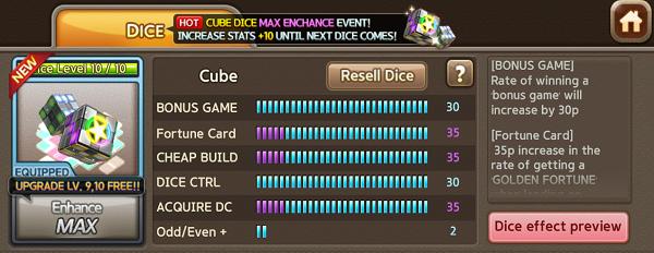 Cube Dice Line Let's Get Rich