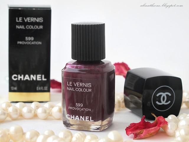 CHANEL Le Vernis Nail Colour 599 PROVOCATION
