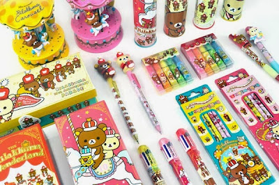 rilakkuma wonderland school supplies at CoolPencilCase.com