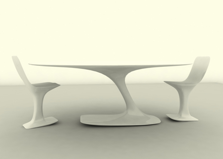 Enterprise Table By Designer Marco De Gregario Credit: Tevami.com. Yes They  Did Eat Food   Drink Coffee Too   On The Star Ship Enterprise, On The TV  Series ...