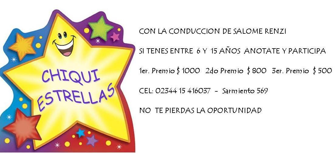 ANOTATE Y PARTICIPA!