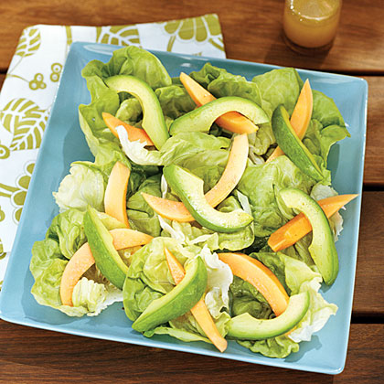 Papaya and Avocado Salad: Add an island flare to your traditional ...