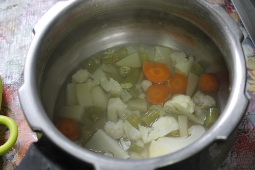 how to prepare vegetable soup for babies