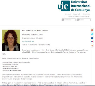 Professora Universitat Internacional de Catalunya