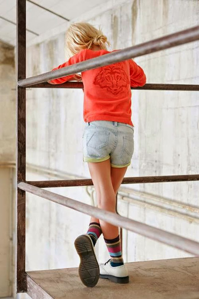 Wolf print by Zadig & Voltaire for spring 2014 kids fashion collection