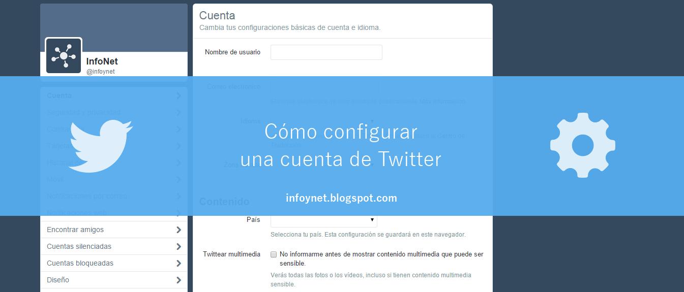 Cómo configurar una cuenta de Twitter