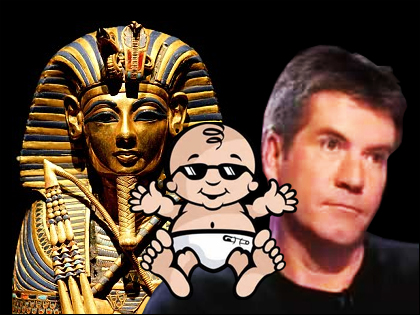 Simon Cowell's Baby to Receive Egyptian Pharaoh DNA Transplant