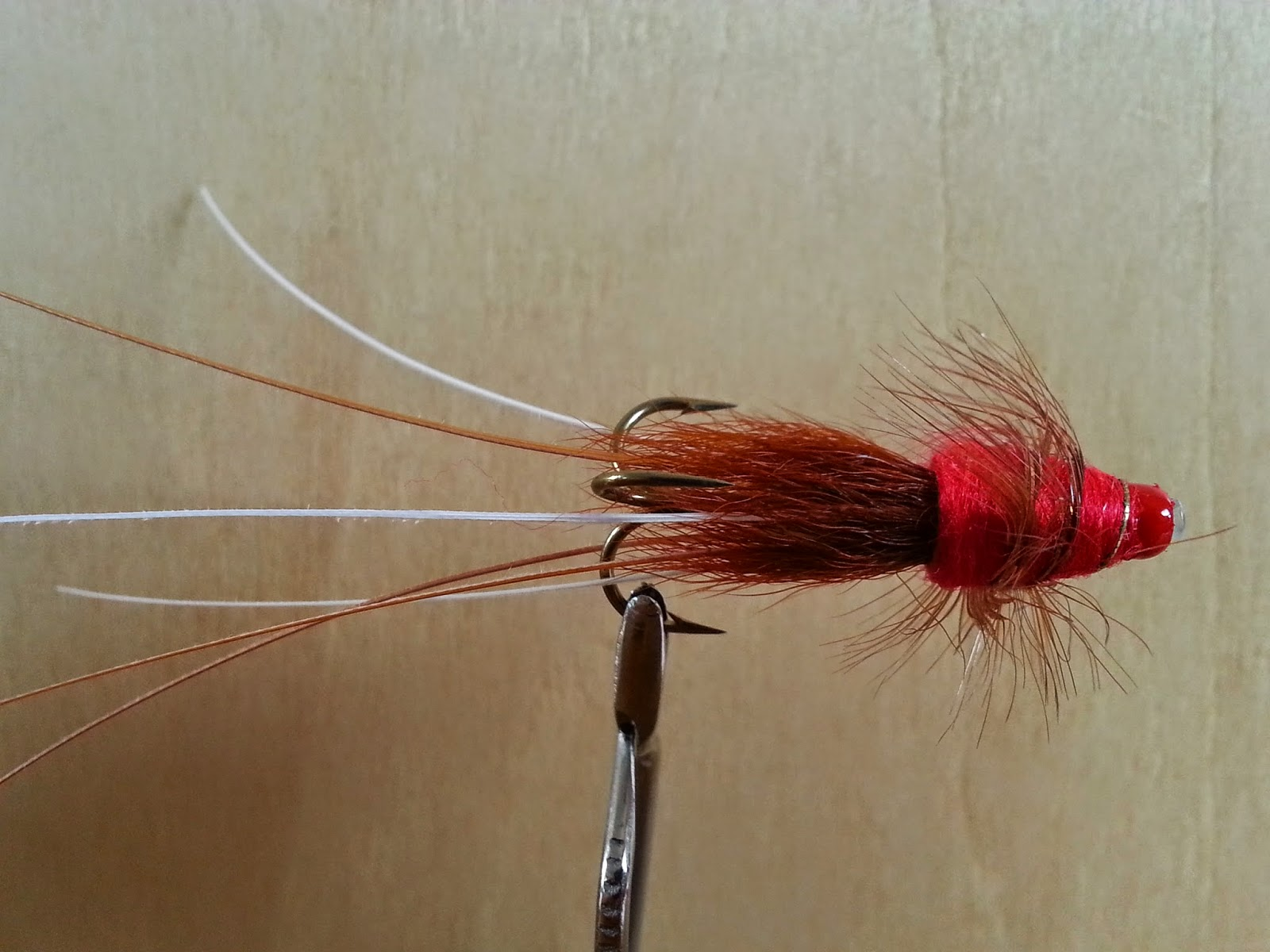 Salmon fly red frances salmon flies tay salmon fly for Salon fly