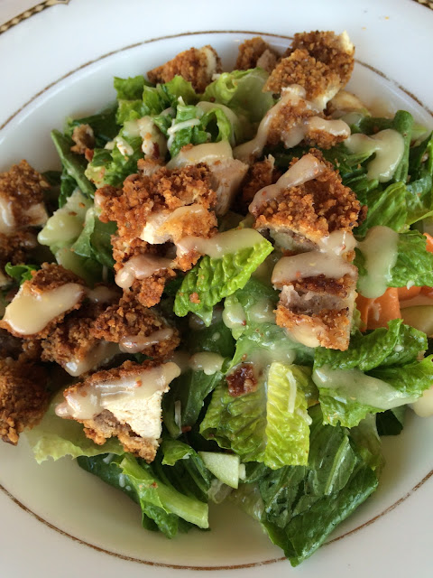 maryland preppy blogger holiday brunch at comus inn pecan chicken salad