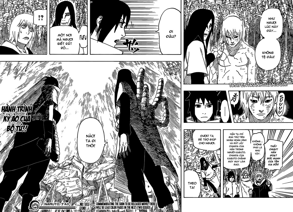 Naruto - Chapter 593 - Pic 15