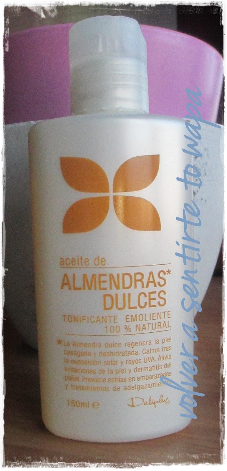 aceite de almendras mercadona ingredientes