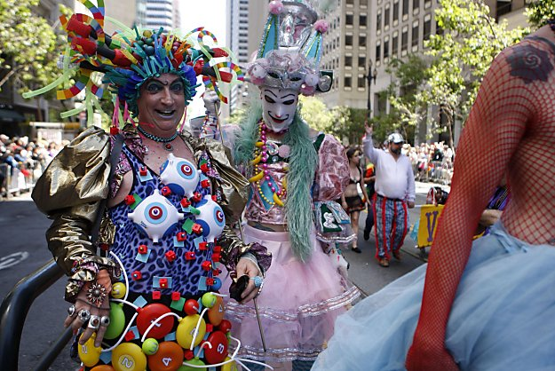 Gay Pride: The world through rainbow-colored glasses