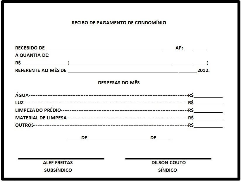 Recibo De Pago Gdf