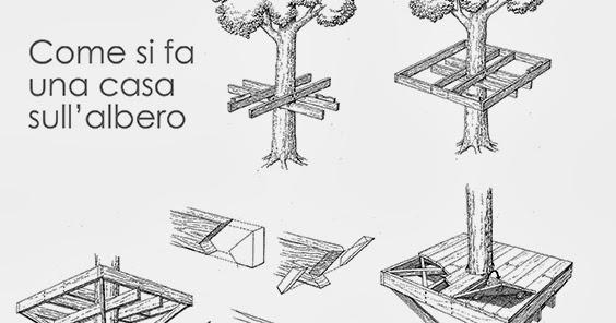 Giorgio pomella illustratore come si fa una casa sull 39 albero - Come costruire una casa sull albero ...