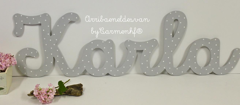 Letras decorativas para infantiles decoracin fiestas - Letras decorativas infantiles ...
