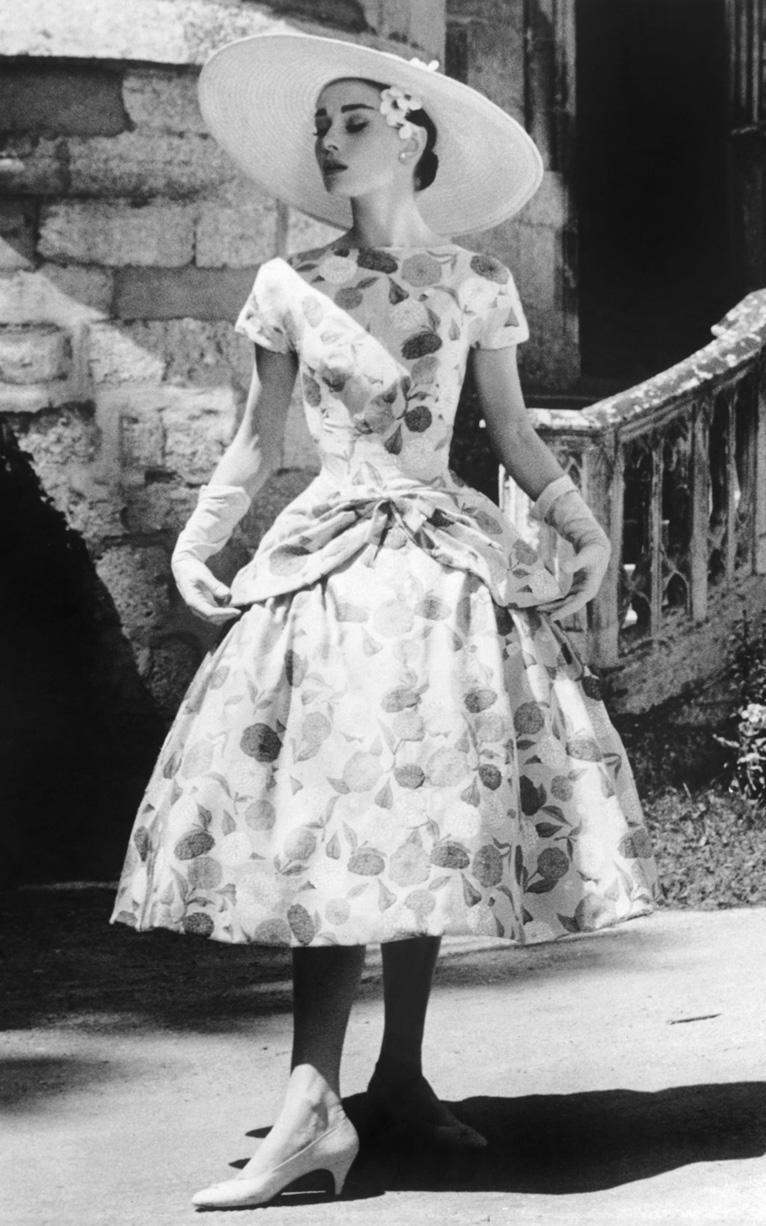 Audrey Hepburn Funny Face Wedding Dress 27 Unique  Iconic Style Moments