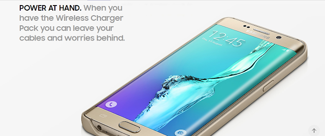 Wireless Charging Galaxy S6 Edge Plus