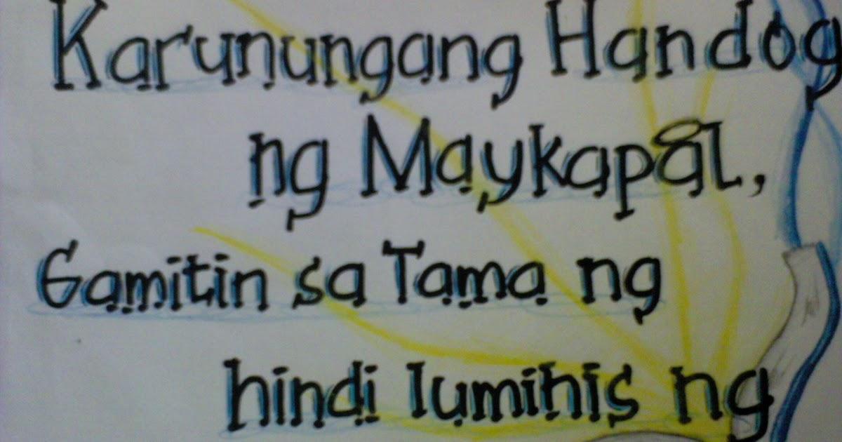 slogan ng kalikasan Pagkasira ng kalikasan isang historikal na pagtingin ni gregorio v bituin jr walang makapagsasabi kung kailan nagsimulang mawasak ng unti-unti ang kapaligiran.