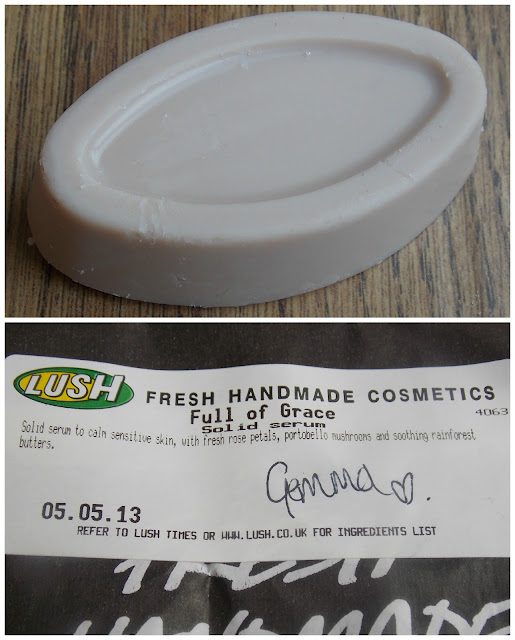 Lush Fresh Handmade Cosmetics Full of Grace Serum Skincare Review