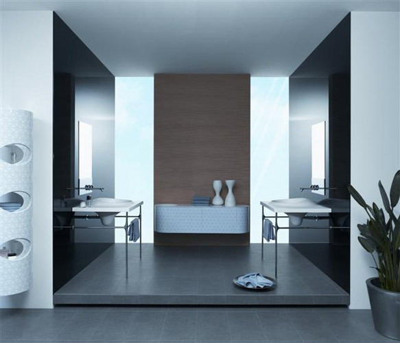 Modern Contemporary Bathroom Design Ideas : Contemporary bathroom designs modern world furnishing
