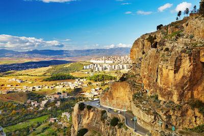 Constantino; la tercera ciudad más grande de Argelia.