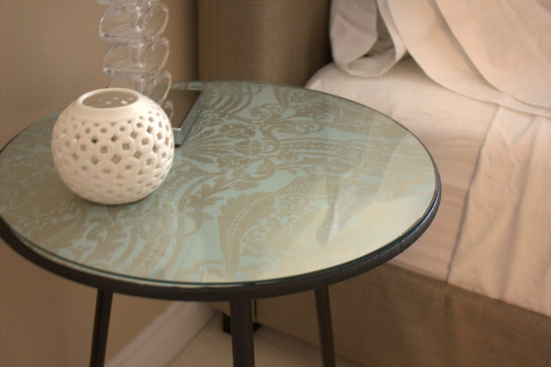 upcycled side tables DIY