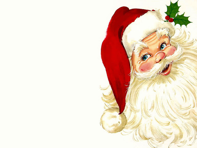 Free Merry Christmas Santa Claus HD Wallpapers for iPad