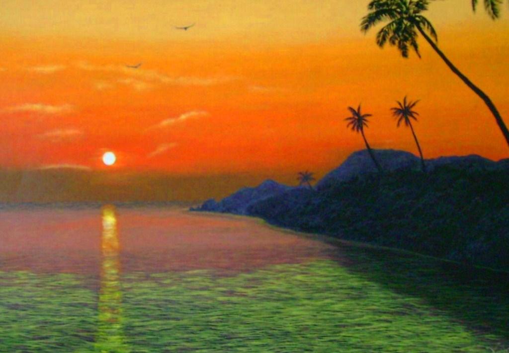Im genes arte pinturas fant sticos oleos de paisajes for Fotos de cuadros abstractos sencillos