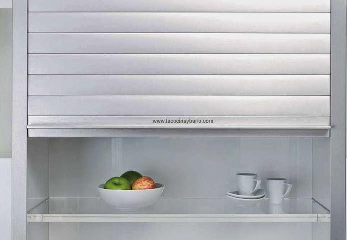 persiana de cocina alumetalic | tu Cocina y Baño
