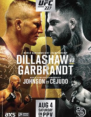 Ver UFC 227 Dillashaw vs. Garbrandt 2 En VIVO