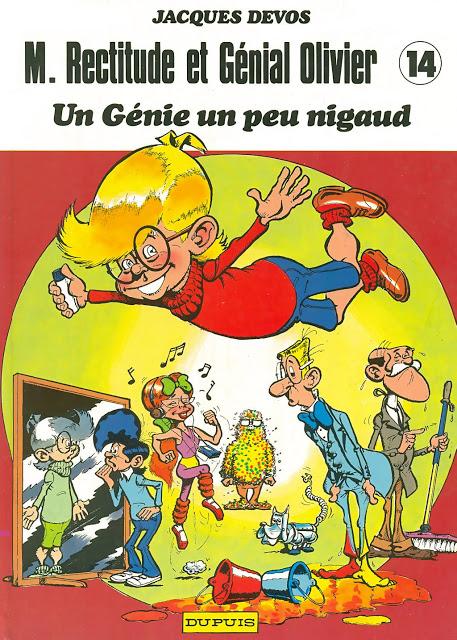 M. Rectitude et Génial Olivier  - Jacques Devos. Scans: Philas (Rescans)