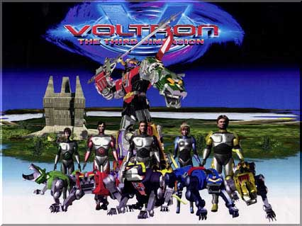 Voltron: The Third Dimension movie