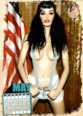 Vikki Blows 2011 Calendar