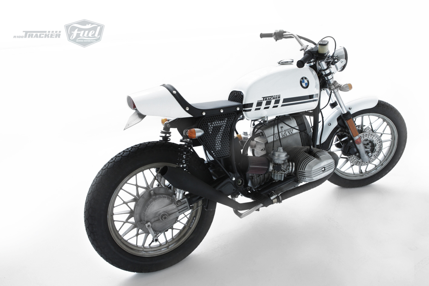"Racing Cafè: BMW R100 ""Tracker"" by Fuel Bespoke Motorcycles"