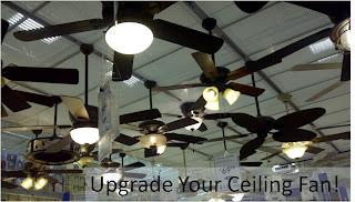 Ceiling fan store display