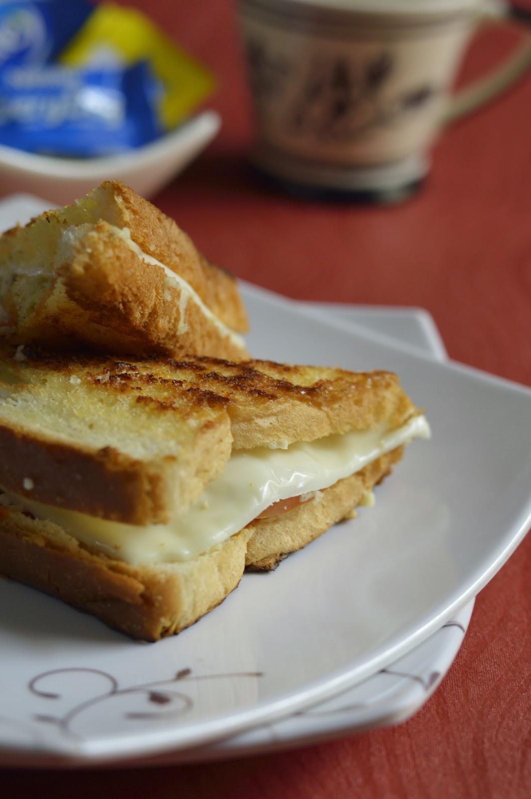 spicy quick schezwan paneer sandwich recipe