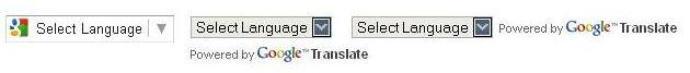 pasang google translate di blog