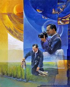 In ricordo di Sua Maesta' Re Bhumibol Adulyadej