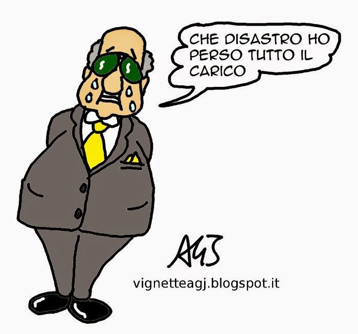 canale di sicilia, naufragio, migranti, satira, vignetta