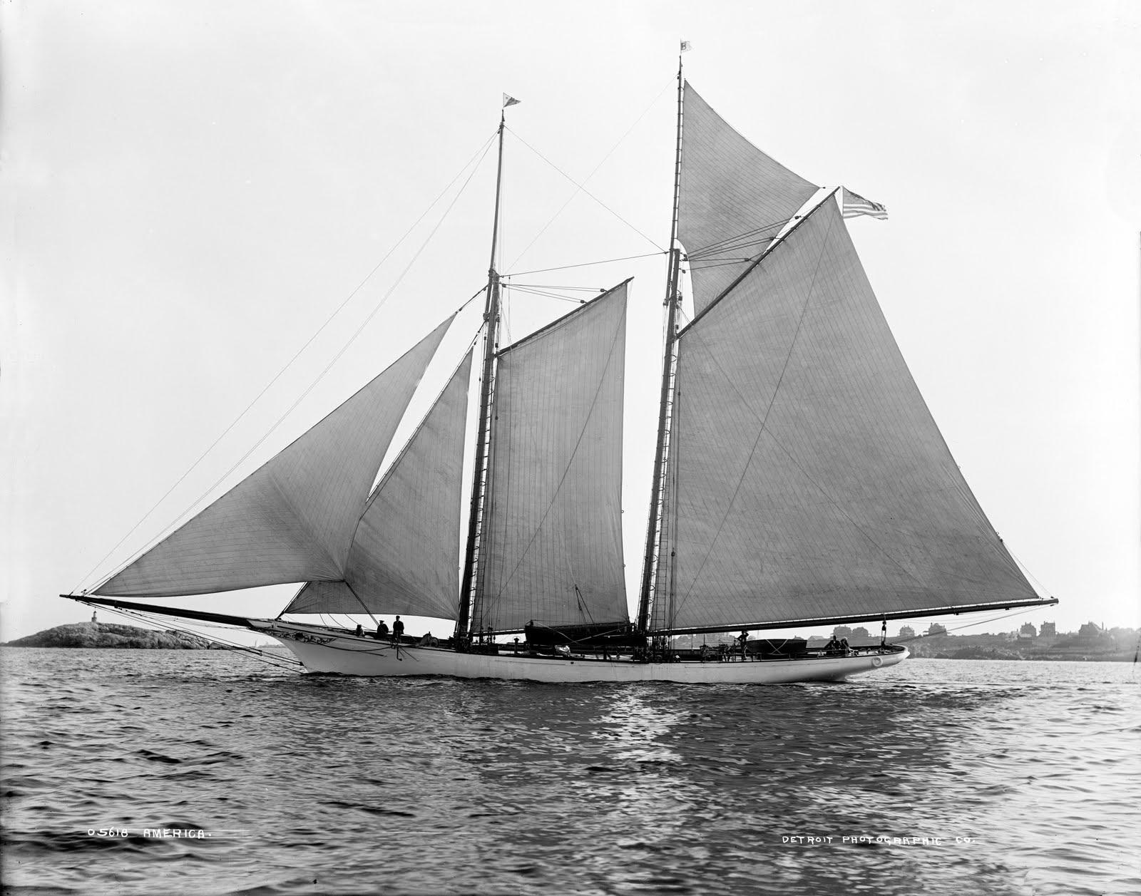 America Racing Yacht