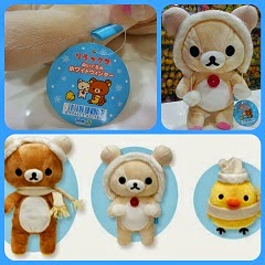 (INSTOCK) VERY RARE 30cm Korilakkuma Winter Plush